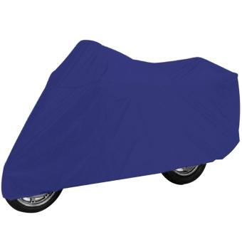 Harga Waterproof Motorcycle Cover (Royal Blue)