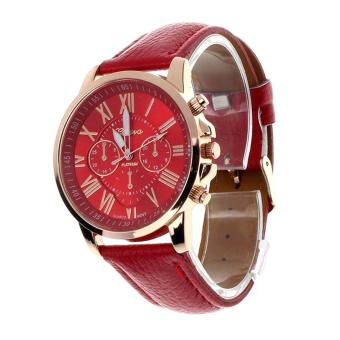 Geneva Roman Numerals Women's Leather Strap Watch Price Philippines