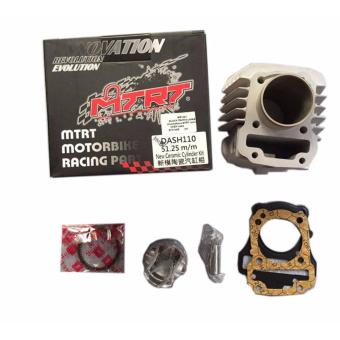 Harga MTRT CYLINDER BLOCK CHROME BORE for Dash110 51.25m/m New Ceramic Cylinder Kit