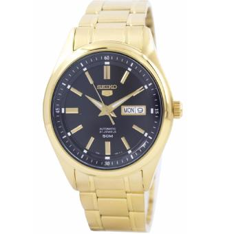 Harga Seiko Automatic Gold Stainless Steel Band Men'S Watch Snkn98K1