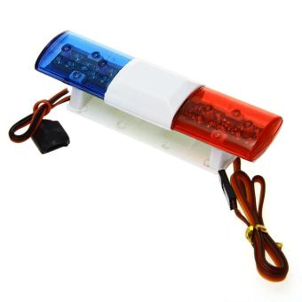 Police Patrol 360 LED Light Bar for 1/10 RC Car Truck 501 Blue+Red Price Philippines
