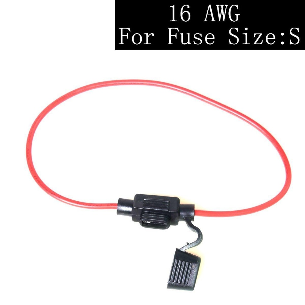 Philippines In Line Blade Fuse Holder Cable Atc Ato For Car Way Circuit Automotive Box Electronics Modifylab Solar System