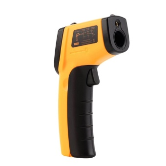 Infrared Thermometer -50~380?C 12:1 Handheld Non-contact Digital Infrared IR Thermometer Temperature Tester Pyrometer LCD Display with Backlight - intl - 3