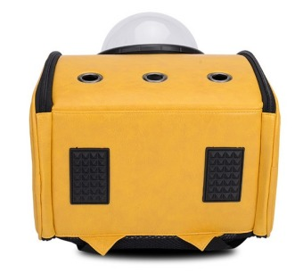 Innovative Travel Bag Bubble Backpack Pet Carriers for Cats and Dogs,Yellow - 4