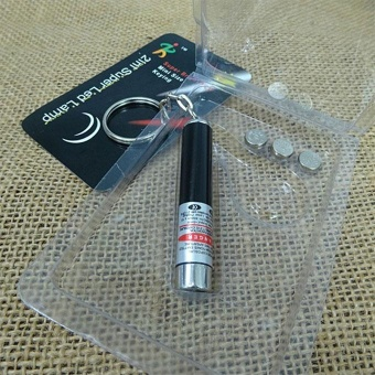 Interactive 2In1 Red Laser Pointer Pen Children Cat Toy Gift With White Light - intl