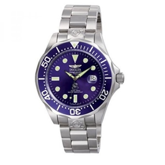 Invicta Mens 3045 Pro-Diver Collection Grand Diver Stainless Steel Automatic Watch with Link Bracelet - intl