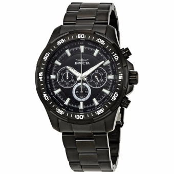 Invicta Speedway Chronograph Black Dial Stainless Steel Men's Watch 22785