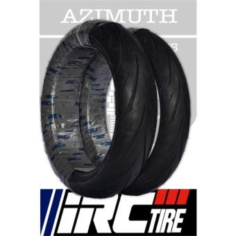 IRC Exato NR88 KTM Duke 200/Yamaha R3/Ninja 300/CBR 250 Front and Rear Tubeless Tires Bundle (Front: 110/70-17 54S Rear: 150/60-17 66S)