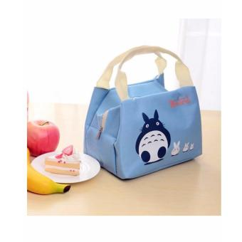 Isabel Insulated Thermal Canvas Lunch Picnic Bag Tote
