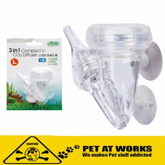 Ista 3 in 1 CO2 Diffuser Compact V (Large) For Fish and AquariumDiffuser