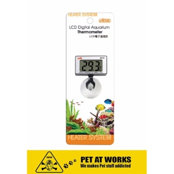 ISTA LCD Digital Aquarium Thermometer (Submersible) For Fresh WaterTank, Marine Tank, Fish Aquarium and Planted Tank