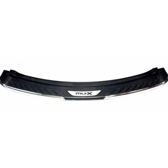 Isuzu Mu-x 2014-2017 Rear Bumper Guard / Back Step sill ( Black )w/logo Price Philippines