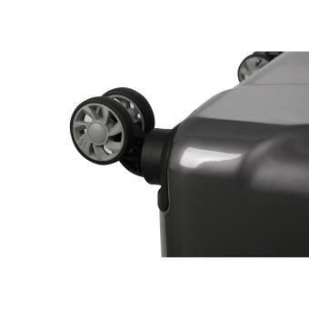 IT Luggage London Corona Large Hard Side Expander 8 Wheel 100%Pc Suitcase Metallic Charcoal - 2