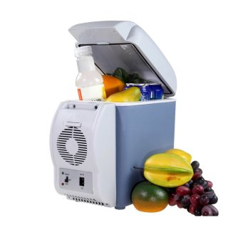J&J 7.5L Mini Fridge Cooler and Warmer Auto Car PortableElectronic Refrigerator