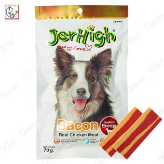 Jerhigh Bacon Strips Real Chicken Meat Dog Treat 70g Price Philippines
