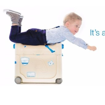 JetKids BedBox Premium Ride On Luggage - Better than a Trunki! - RED - Jet Kids