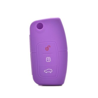 Jetting Buy Car Key Case Cover Silicone For Ford Focus Mondeo Purple