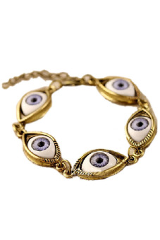 Jetting Buy Chain Bracelet Women Fashion Lucky Evil Eye Gold