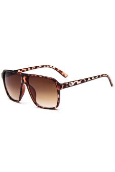 Jetting Buy Men Square Sunglasses Unisex Steampunk Leopard