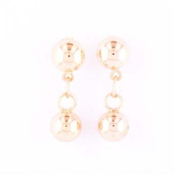 Jewelmine Isabella 90 Duo Earrings (Gold) - picture 2