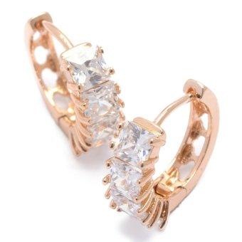 Jewelrista EAR941 Earrings (Rose Gold)