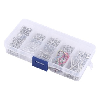 Jewelry Making Kits Set Chain Beads Craft Accessories With Box -intl