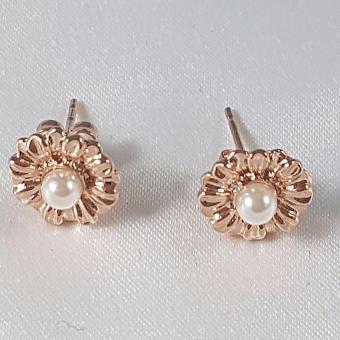 Jewelworld Bangkok Plated Earrings (gold) - 4