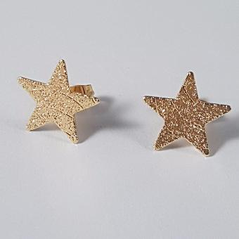 Jewelworld Stardust Bangkok Plated Earrings (gold)