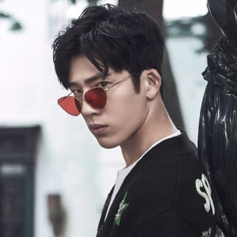 Jing Boran celebrity inspired sun glasses