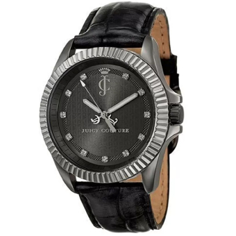 Juicy Couture Stella Croc Leather Strap Black Price Philippines