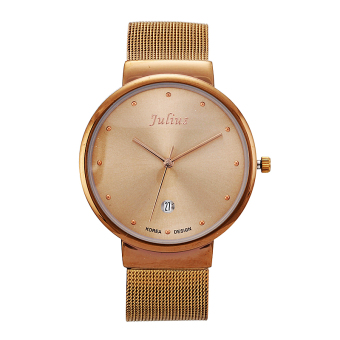 Julius female ultra-thin steel student waterproof watch women's watch
