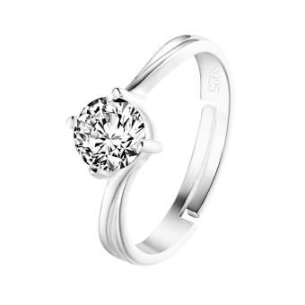 Just Gift 925 Sterling Silver Ring 2028