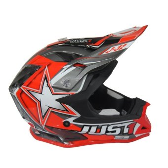 JUST1 J32 PRO MOTO X RED MOTOCROSS HELMET ( 2017 Collection) -LARGE