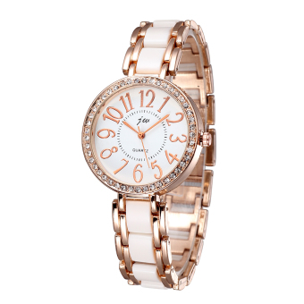JW Women Fashion Casual Watches Steel Strip Rose Gold 334201