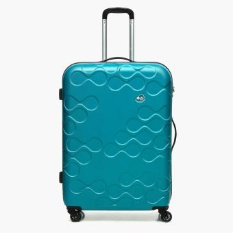 Kamiliant Harrana Large Hard Luggage (Turquoise)