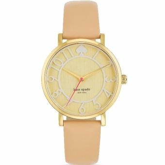 Kate Spade New York Metro Women's Leather Strap Watch