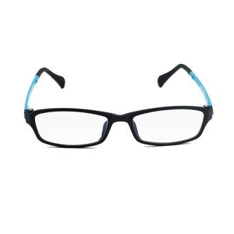 KATELUO TUNGSTEN Computer Goggles Anti Fatigue Radiation-resistant Reading Glasses Frame Eyeglasses 13021(Blue)[ free gift ]- intl - 2