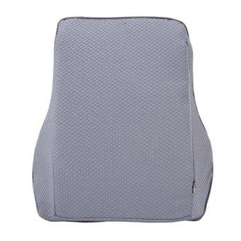 KCB Car Auto Season Universial Bamboo Charcoal Memory Cotton BackRest Cushion Back Pillow Mat - intl - 3