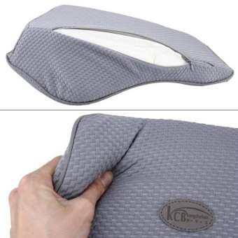 KCB Car Auto Season Universial Bamboo Charcoal Memory Cotton BackRest Cushion Back Pillow Mat - intl - 4