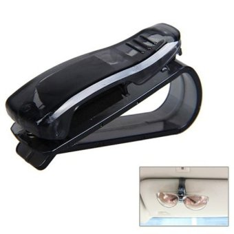 KICCY ABS Sunglasses Glasses Clip Card Pen Holder for Car Vehicle -intl