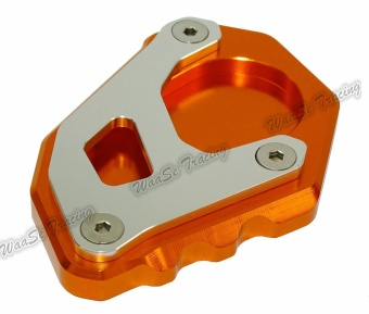 Kickstand Foot Side Stand Extension Pad Support Plate For KTM 10501190 1290 Adventure Orange - intl Price Philippines