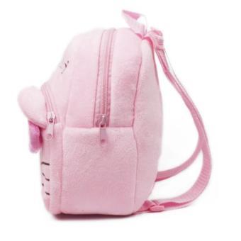 Kids Backpack Toddler Bag Children Fur Bag Soft Plush 3D Stuffed Toy School Bag (HK Small) - 5