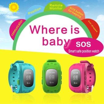 Kids Safe GPS/GSM Watch Wristwatch SOS Call Anti Lost Smartwatch For Kids-Q50 - intl - 4