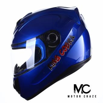 King Cobra K-691 A Full Face Motorcycle Helmet (Blue)