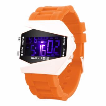 KingDo LED Watch Date Sports Digital Rubber Wristband Dial Bracelet Gift for Kids