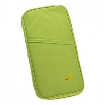 King's ID Card Passport Organizer Bag (Green)