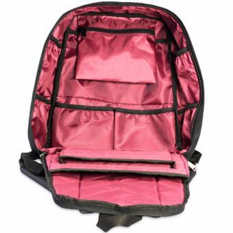 KISHU travel backpack / Hidden zippers/ Anti theft / Laptop /Premium (BLUE) - 2