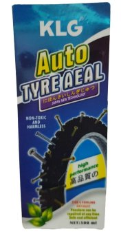 KLG Auto Tire Seal (Tyre Sealant, Never Flat) 500ml