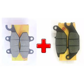 KNZ Motorctycle brake pad Raider150(Front and Rear)