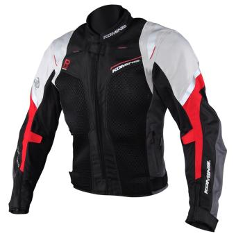 Komine JK-109 Motorcycle Racing Fit Mesh Jacket